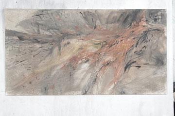 Fox (Volpe)   100 x 50 cm  2011