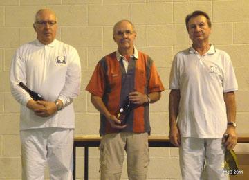 Francis FAGON, Michel LAHOREAU et Claude FERRIOU