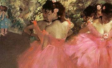 Danseuses en rose