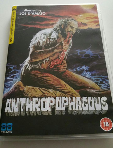 Anthropophagous DVD movie review