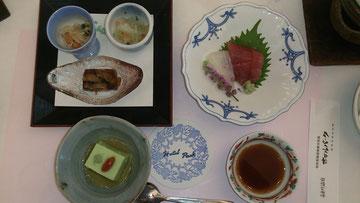 お写真がなくて残念ですが・・・ アユの塩焼きがでました  そうです「長良川といえば鵜飼」・・・シーズンですね~   もちろんガッツリと共食いいたしました