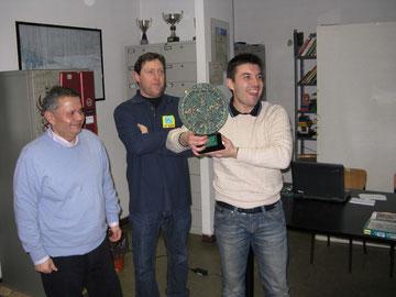 Primo classificato: Matteo DIEGOLI (Comunali di Pavia)