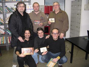 Alcuni dei partecipanti con i premi offerti dallo sponsor XXV LEGIO.