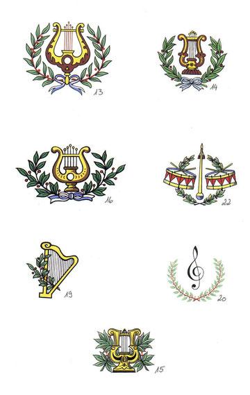 #vereinsgläser #ehrengabe #präsente #vereine #musikverein #chorgemeinschaft #fanfarenzug #guggemusik #lyra #lorbeerkranz
