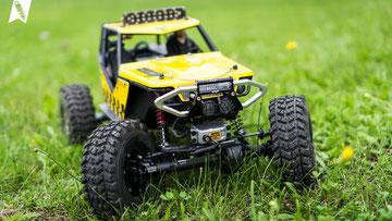 crawlster®4Wd – beim Recon G6 in Italien