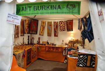 Stand d'AFT Burkina à l'Epine
