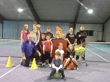 1. Woche Tenniscamp