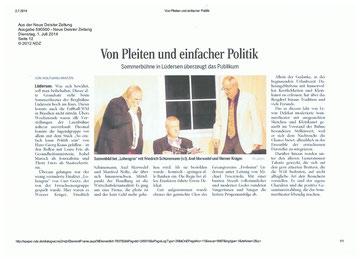 Quelle: Neue Deister Zeitung