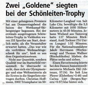Salzburger Nachrichten 22.12.2012