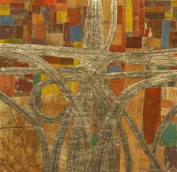 """""""Highway no. 1"""" 100 x 100 cm"""