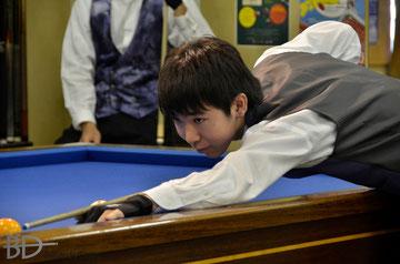 森雄介プロ。昨年7月撮影(当時アマで19歳)