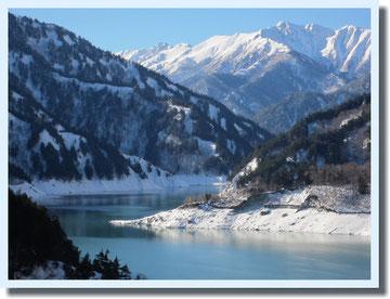 農業体験と温泉と真冬の黒部ダム♪