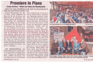 Artikel Rundschau 12./13. Juni 2013, Ausgabe 24, 30. Jahrgang