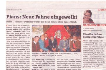Artikel Blickpunkt Ausgabe Landeck 12./13. Juni 2013, Ausgabe 24