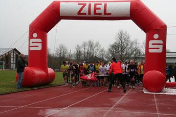 Start des 2. Ottobeurer Halbmarathons