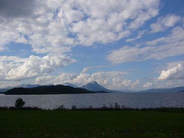 Am Krutvatnet kurz vor der schwedischen Grenze (Punkt E)