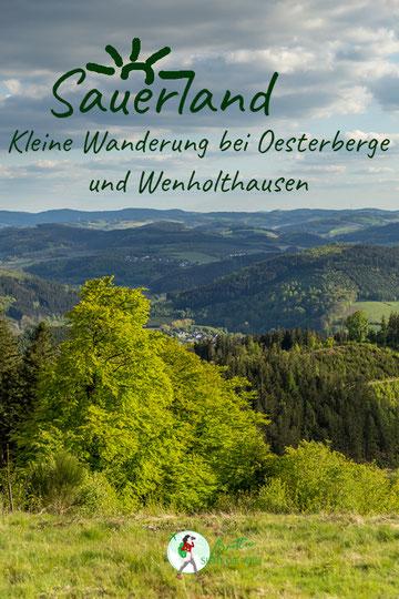 Kleine Wanderung bei Oesterberge und Wenholthausen mit herrlichen Aussichten.