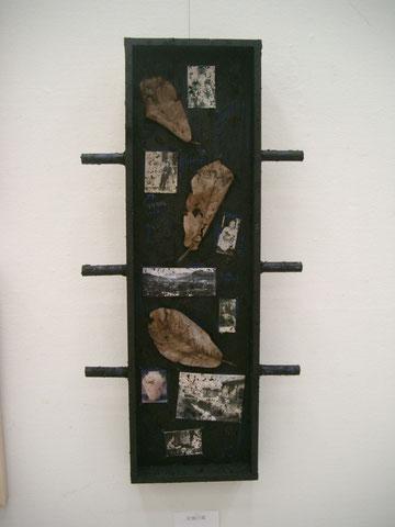 「記憶の箱-柳宗悦と淺川巧」2010年7月制作・日韓美術交流東京展2010(目黒美術館区民ギャラリー)