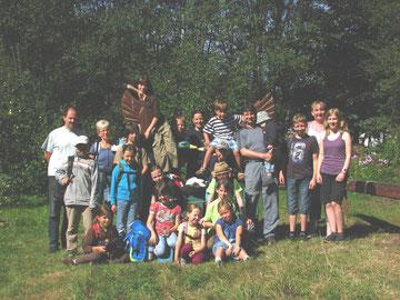 Die Briesnitzer Ameisen in Böhmen 2012