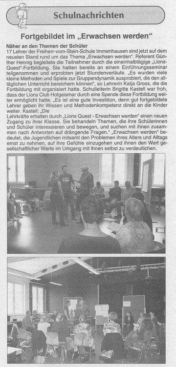 Immenhäuser Stadtbote, Nr 23/2011