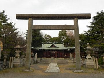 社殿と鳥居