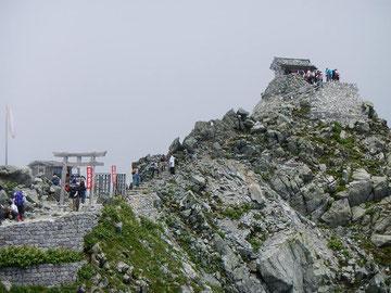 雄山神社峰本社 全景
