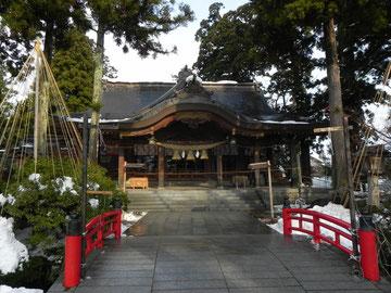 神橋と拝殿