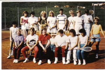 1. Tenniskurs in Kleinreifling