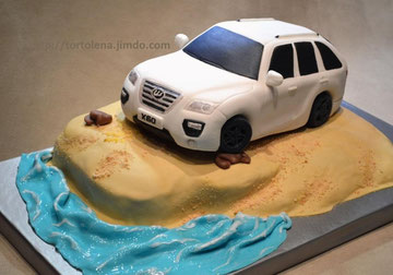 """Торт """"Лифан Х60"""" для """"Автолидер"""""""
