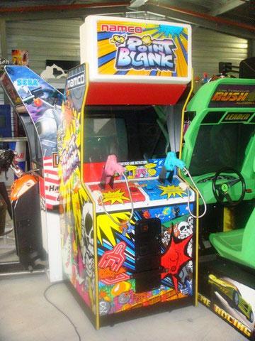borne arcade point blank