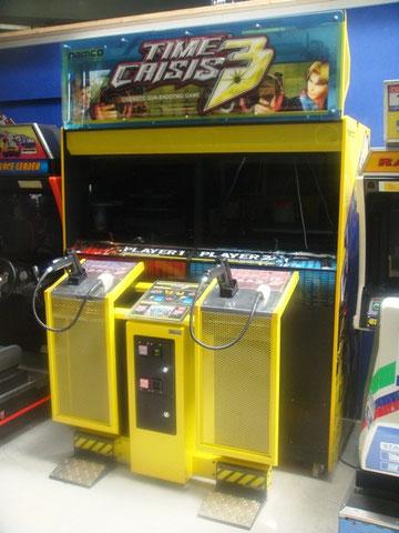 borne arcade time crisis 3