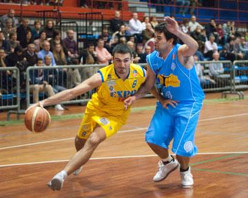 Mirko Cavallaro, top scorer con 29 punti (Foto Paola Trapelli)