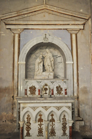 Santo Pietro di Tenda - Fonts baptismaux