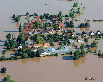 Hochwasser Elbe 2003