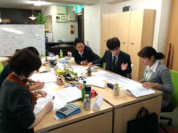 福岡のコミュニケーション研修の様子