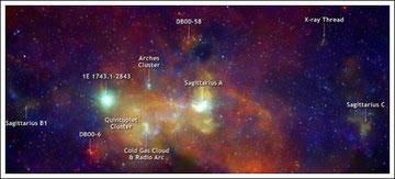 Мать нашей галактики - Черная Дыра - Стрелец А