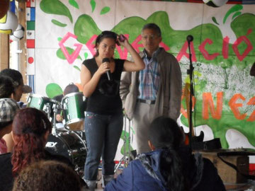 Adolfo y su hija Suan