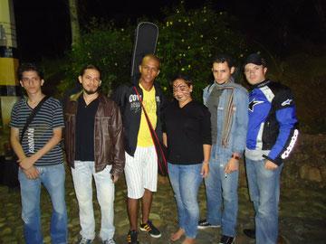 Barny,Jhonatan,Victor,amiga,Juan y Yesit