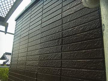 外壁塗装完成。