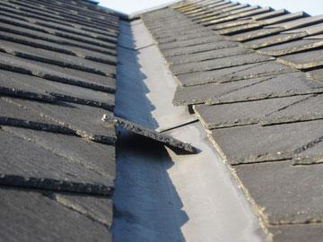 コロニアル屋根スレート屋根の瓦ズレ