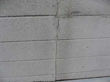外壁の亀裂ひび割れの状態
