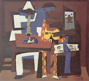 Picasso: los tres músicos, 1921