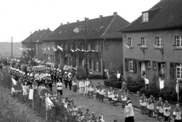 Fronleichnamsprozession 1955