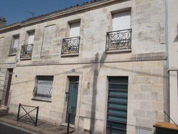 la maison de Guy Bourreau à  Bordeaux