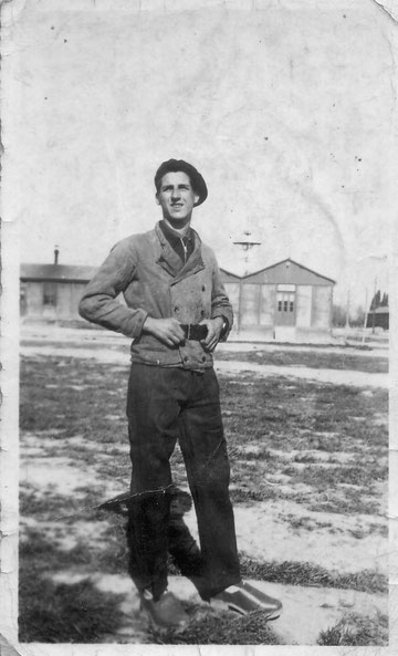 Le sergent Barde en 1941-1942