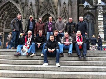 Alte Herren auf Tour - 2010 in Köln