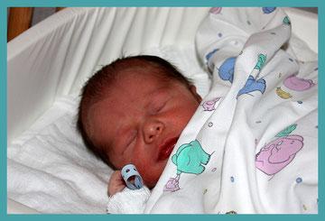 Paul - das neue Familienmitglied, geboren am 10.9.2009