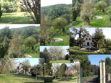 Photos de l'emplacement des terrains