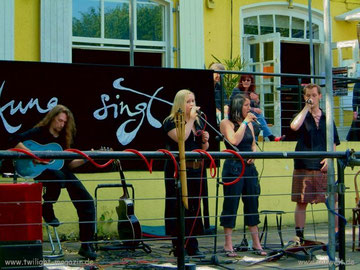 Veranstaltung auf der Terrasse