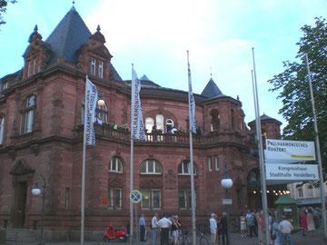 コンサート会場のシティ・ホール(Stadthalle)。